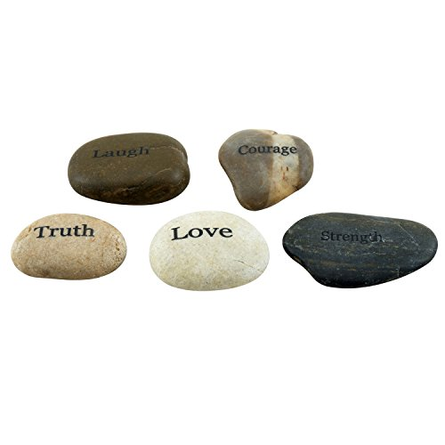 Stonebriar-5pc-Engraved-Inspirational-Stones-Gift-Ideas-Every-Friend-Will-Love-0