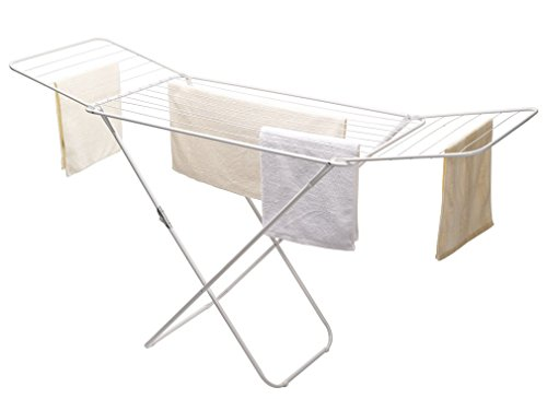 StorageManiac-Heavy-duty-Folding-Drying-Rack-Water-resistant-Steel-Expandable-Clothes-Drying-Rack-0-0