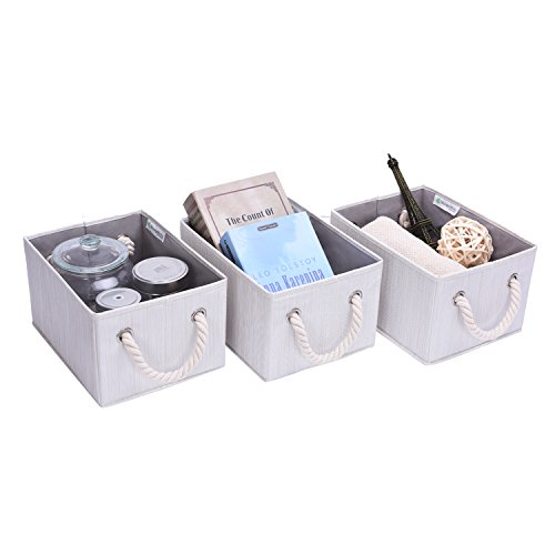 StorageWorks-Polyester-Storage-Box-with-Strong-Cotton-Rope-Handle-Foldable-Basket-Organizer-Bin-3-Pack-0-0