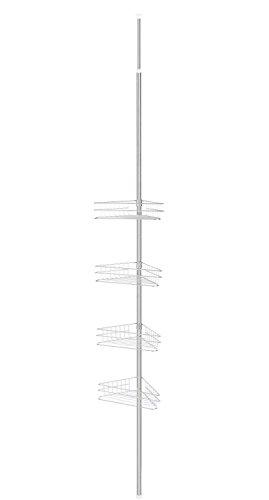 Storagemaniac-Bathtub-and-Shower-Caddy-with-4-Baskets-Satin-Nickel-0-1