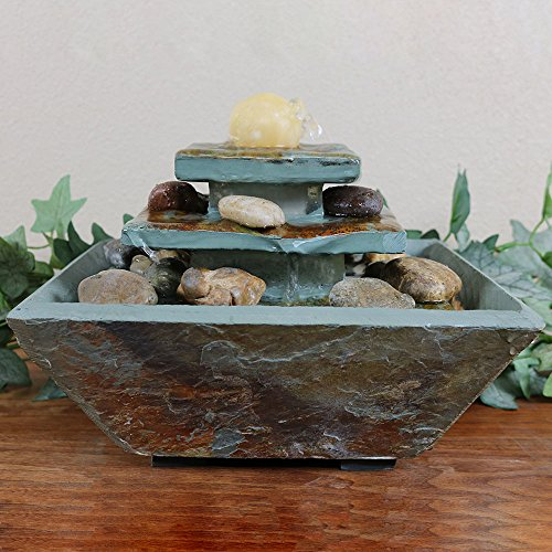 Sunnydaze-Ascending-Slate-Tabletop-Water-Fountain-with-LED-Light-8-Inch-Tall-0-0