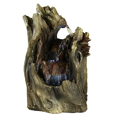 Sunnydaze-Cascading-Caves-Waterfall-Tabletop-Fountain-with-LED-Lights-14-Inch-Tall-0
