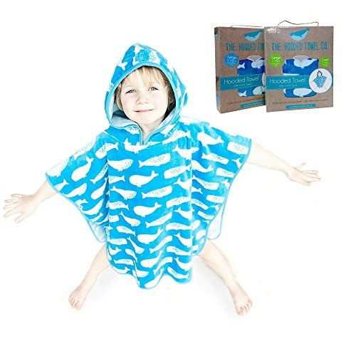 Super-Soft-And-Thick-Kids-Hooded-Poncho-Towel-For-Boys-And-Girls-Aged-1-10-years-Large-And-Small-Sizes-Ideal-from-Beach-Time-To-Bath-Time-0