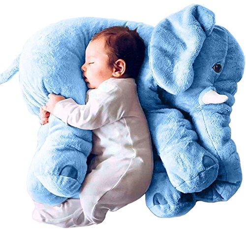 Super-Soft-Cute-Big-Stuffed-Elephant-Plush-Doll-Pillows-Baby-Elephants-Toys-0