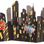Superhero-Comics-Party-Supplies-Standup-City-Scape-0