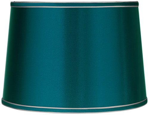 Sydnee-Satin-Teal-Blue-Drum-Lamp-Shade-14x16x11-Spider-0