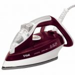 T-fal-FV4446-Ultraglide-Easycord-Steam-Iron-Ceramic-Scratch-Resistant-Non-Stick-Soleplate-with-Auto-Off-1700-Watt-Red-0