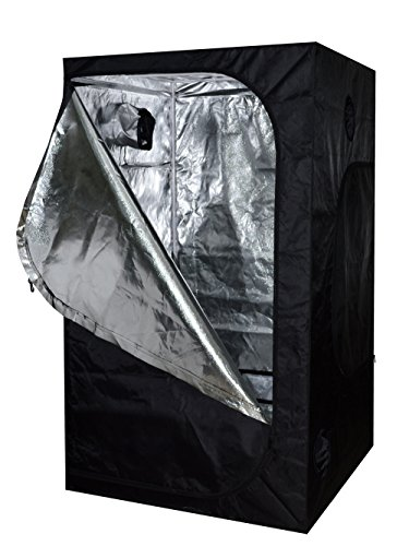 TMS-48x48x78-100-Reflective-Mylar-Hydroponics-Indoor-Grow-Tent-Non-Toxic-Room-4x4x65ft-0