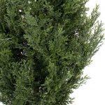 TWO-Pre-potted-3-Artificial-Cedar-Topiary-Outdoor-Indoor-Tree-0-1