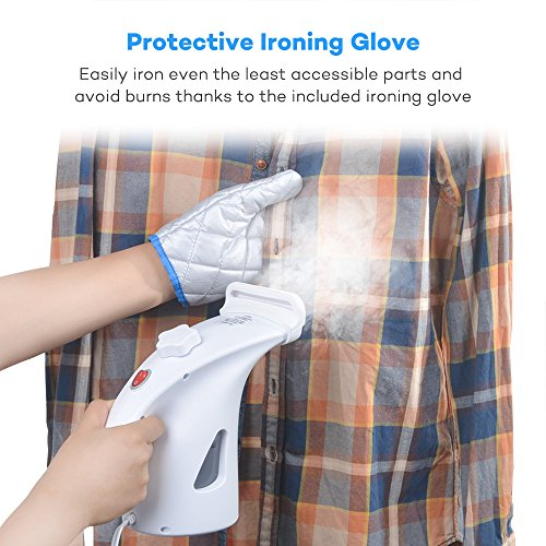TaoTronics-Garment-Steamer-2-Set-of-Upgraded-200ml-Large-Capacity-Handheld-Fabric-Steamer-for-Clothes-with-Protective-Ironing-Glove-10-Minute-Continuous-Steaming-Fast-2-Minute-Heat-Up-two-units-0-0