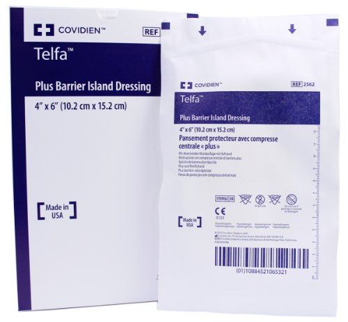 Telfa-Plus-Barrier-Sterile-Island-Wound-Dressing-4-x-6-Box-of-25-0