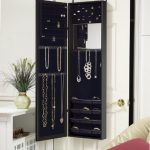The-Plaza-Astoria-Wall-Mount-Over-The-Door-and-Free-Standing-Jewelry-Armoire-and-Cabinet-with-Full-Length-Dressing-Mirror-and-Vanity-Mirror-0