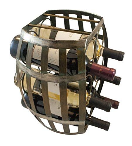 TheopWine-Barrel-Shaped-6-Bottle-Wine-Rack-0-0