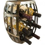 TheopWine-Barrel-Shaped-6-Bottle-Wine-Rack-0