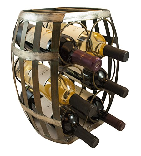 TheopWine-Barrel-Shaped-6-Bottle-Wine-Rack-0