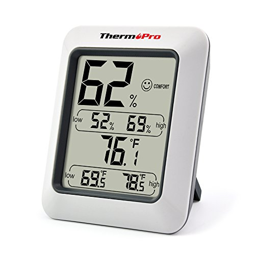 ThermoPro-TP50-Hygrometer-Thermometer-Indoor-Humidity-Monitor-with-Temperature-Gauge-Humidity-Meter-0