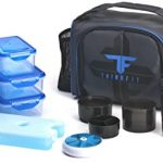ThinkFit-Insulated-Lunch-Boxes-RedBlue-With-6-Portion-Control-Containers-Reusable-Ice-Pack-Pill-Box-Shaker-Cup-Shoulder-Strap-and-Extra-Storage-Pocket-Best-Lunch-Box-For-Portion-Control-Diet-0-0