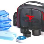 ThinkFit-Insulated-Lunch-Boxes-RedBlue-With-6-Portion-Control-Containers-Reusable-Ice-Pack-Pill-Box-Shaker-Cup-Shoulder-Strap-and-Extra-Storage-Pocket-Best-Lunch-Box-For-Portion-Control-Diet-0