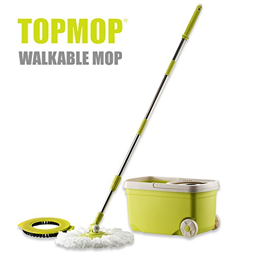 Topmop-Stainless-Steel-Deluxe-Rolling-Spin-Mop-0-0