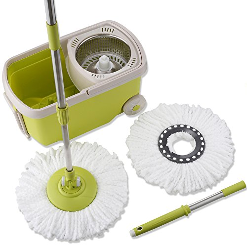 Topmop-Stainless-Steel-Deluxe-Rolling-Spin-Mop-0