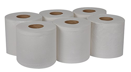 Tork-Universal-RC530-Centerfeed-Paper-Towel-2-Ply-76-Width-x-1175-Length-White-Case-of-6-Rolls-530-per-Roll-3180-Towels-0-0