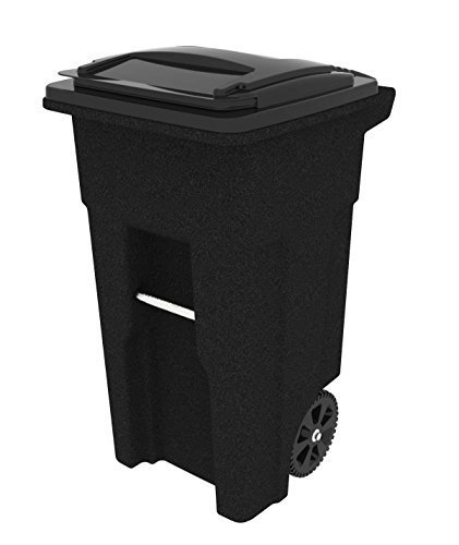 Toter-025548-R1940-Residential-Heavy-Duty-Two-Wheeled-Trash-Can-with-Attached-Lid-0