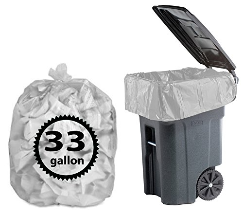 Trash-Bags-33-Gallon-100-Count-By-Primode-Heavy-Duty-Clear-Garbage-Bags-For-Indoor-Or-Outdoor-Use-33×39-MADE-IN-THE-USA-0