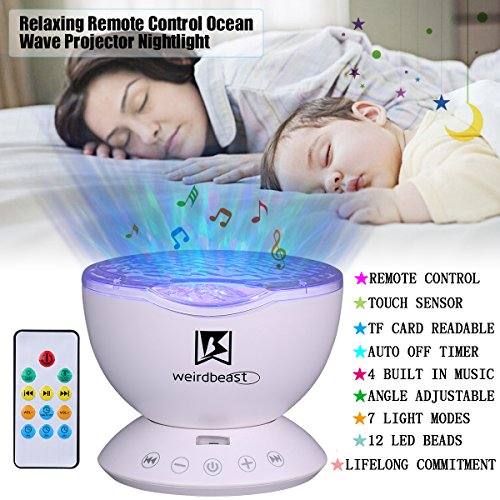UPGRADED-GENERATION-Weirdbeast-Remote-Control-Ocean-Wave-Projector-Sleep-Night-Lights-Bedroom-Living-Room-Decoration-Lamp-with-Built-in-Music-Speaker-for-KidsAdult-Light-Up-Your-Life-0-0