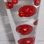 Unique-Vase-Fillers-34-Oversize-Red-Pearl-Beads-Includes-Free-Jelly-Beadz-gel-so-They-Will-Float-0-1
