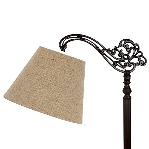 Upgradelights-10-Inch-Uno-Floor-Lamp-Shade-Replacement-in-Beige-Linen-0