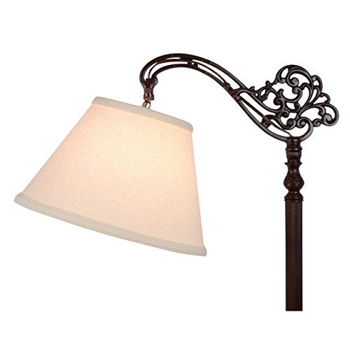 Upgradelights-Uno-Beige-Linen-Lamp-Shade-Floor-Lamp-Replacement-Shade-Down-Bridge-Shade-0-0