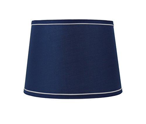 Urbanest-French-Drum-With-White-Trim-12-Lampshade-0
