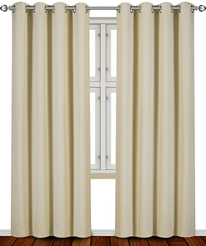 Thermal Blackout Curtains Reddit: Utopia Bedding Grommet Top Thermal Insulated Blackout