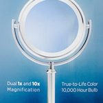 Vanity-Mirror-Natural-Daylight-10000-Hour-Bulb-Dual-1x-and-10x-Magnification-by-Sunter-0