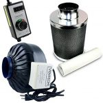 VenTech-VT-IF4CF4-B-Inline-Exhaust-Blower-Fan-with-Carbon-Filter-and-Variable-Speed-Controller-190-CFM-4-0