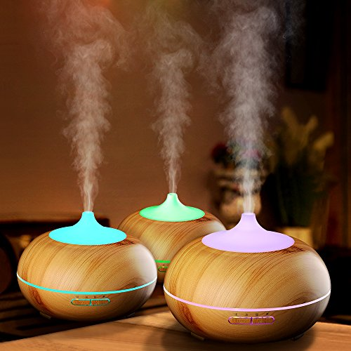 VicTsing-300ml-Aroma-Essential-Oil-Diffuser-Wood-Grain-Ultrasonic-Cool-Mist-Humidifier-for-Office-Home-Bedroom-Living-Room-Study-Yoga-Spa-0-0