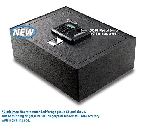 Viking-Security-Safe-VS-14BL-Top-Opening-Drawer-Biometric-Fingerprint-LCD-Keypad-Safe-0