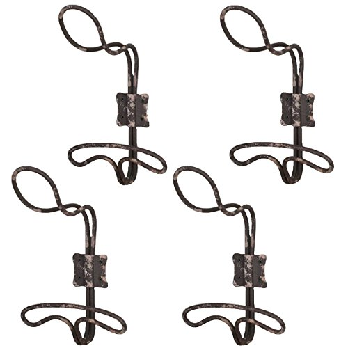 Vintage-Style-Rustic-Wire-Wall-Hooks-Set-of-4-0