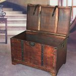 VintiquewiseTM-Old-Fashioned-Wooden-Storage-Treasure-Trunk-0-1