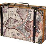 VintiquewiseTM-Old-World-Map-SuitcaseDecorative-Box-0-0