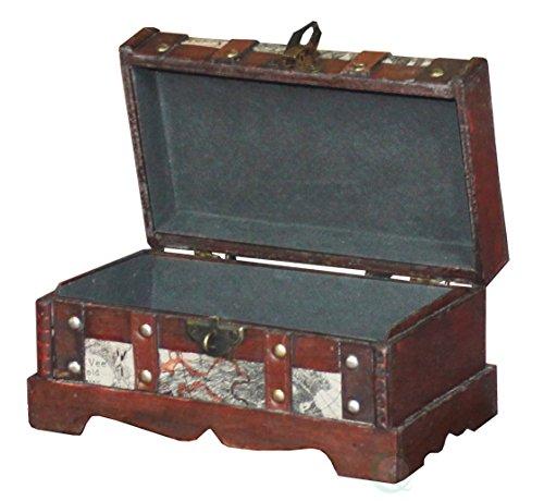 VintiquewiseTM-Old-World-Map-Wooden-TrunkBox-Set-of-2-0-1