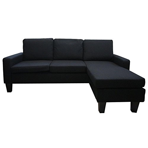 Wakrays-Black-Modern-Fabric-Sectional-Sofa-with-Reversible-Chaise-Lounge-Living-Room-Small-Spaces-Configurable-Couch-0