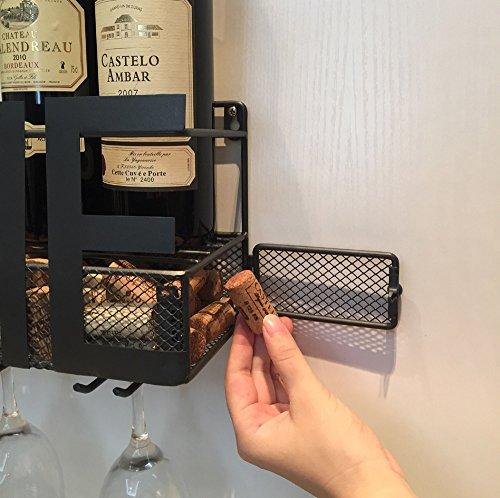 Wall-Mounted-Metal-Wine-Rack-4-Long-Stem-Glass-holder-Wine-Cork-Storage-By-Soduku-0-1