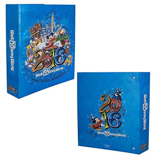 Walt-Disney-World-Parks-2016-Large-Photo-Album-Holds-300-Photos-Music-Magic-Memories-0-1