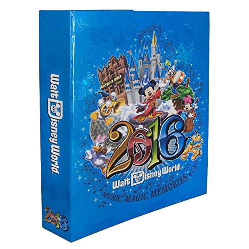 Walt-Disney-World-Parks-2016-Large-Photo-Album-Holds-300-Photos-Music-Magic-Memories-0