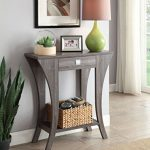 Weathered-Grey-Finish-Console-Sofa-Entry-Table-with-Drawer-0