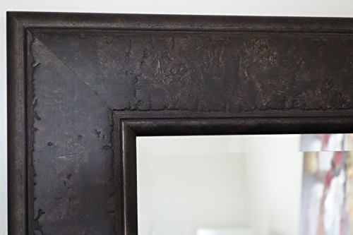 West-Frames-Marcello-Full-Floor-Rustic-Dark-Charcoal-Brown-Mirror-0-1