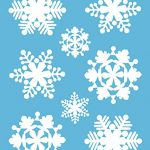 White-Snowflakes-Window-Cling-Decals-0-0