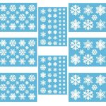 White-Snowflakes-Window-Cling-Decals-0