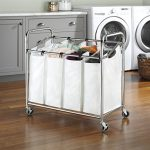 Whitmor-4-Section-Laundry-Bag-Sorter-Chrome-White-0-0